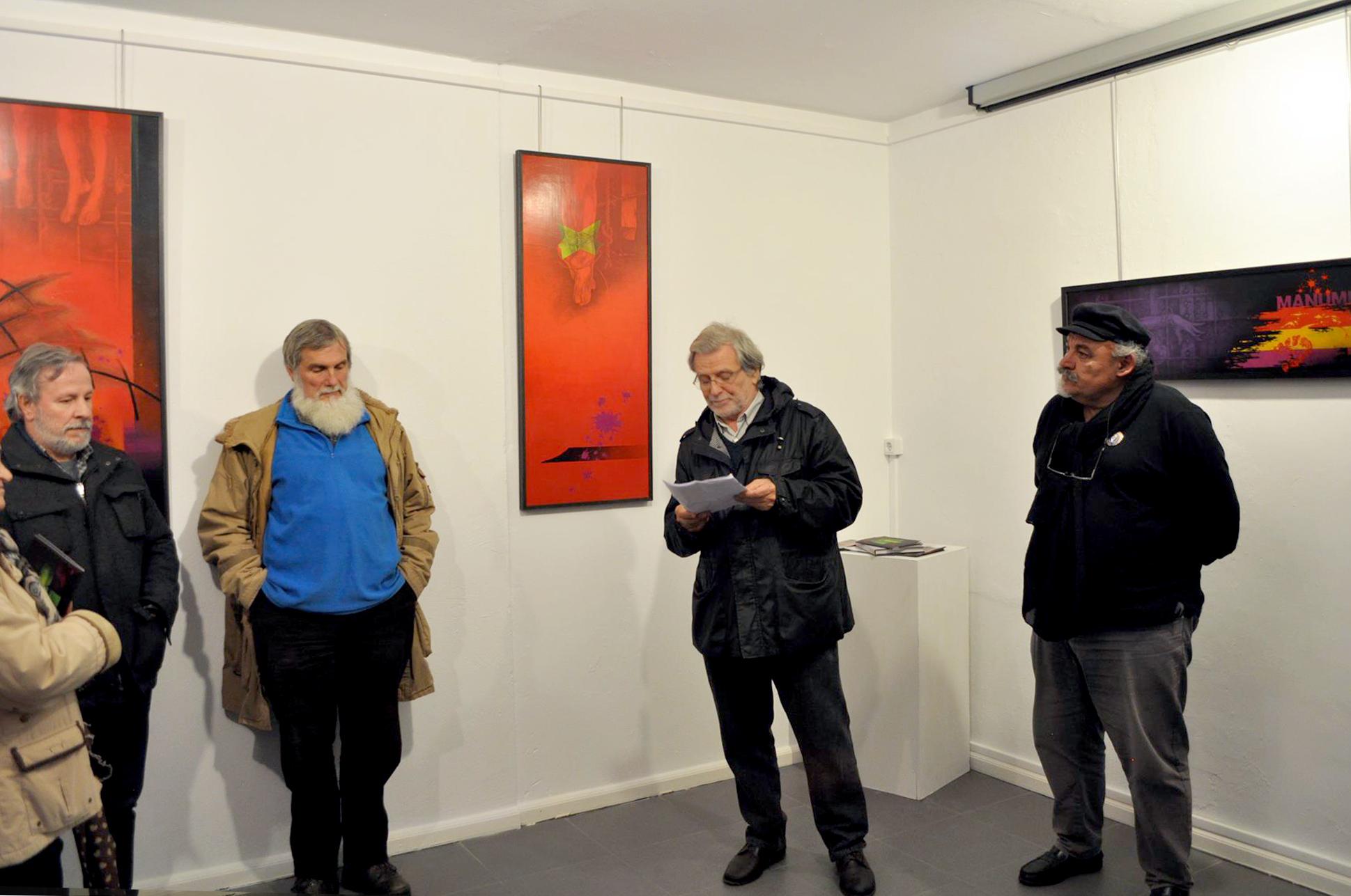 Inauguaración da exposición Represaliados no Museo da Fonsagrada