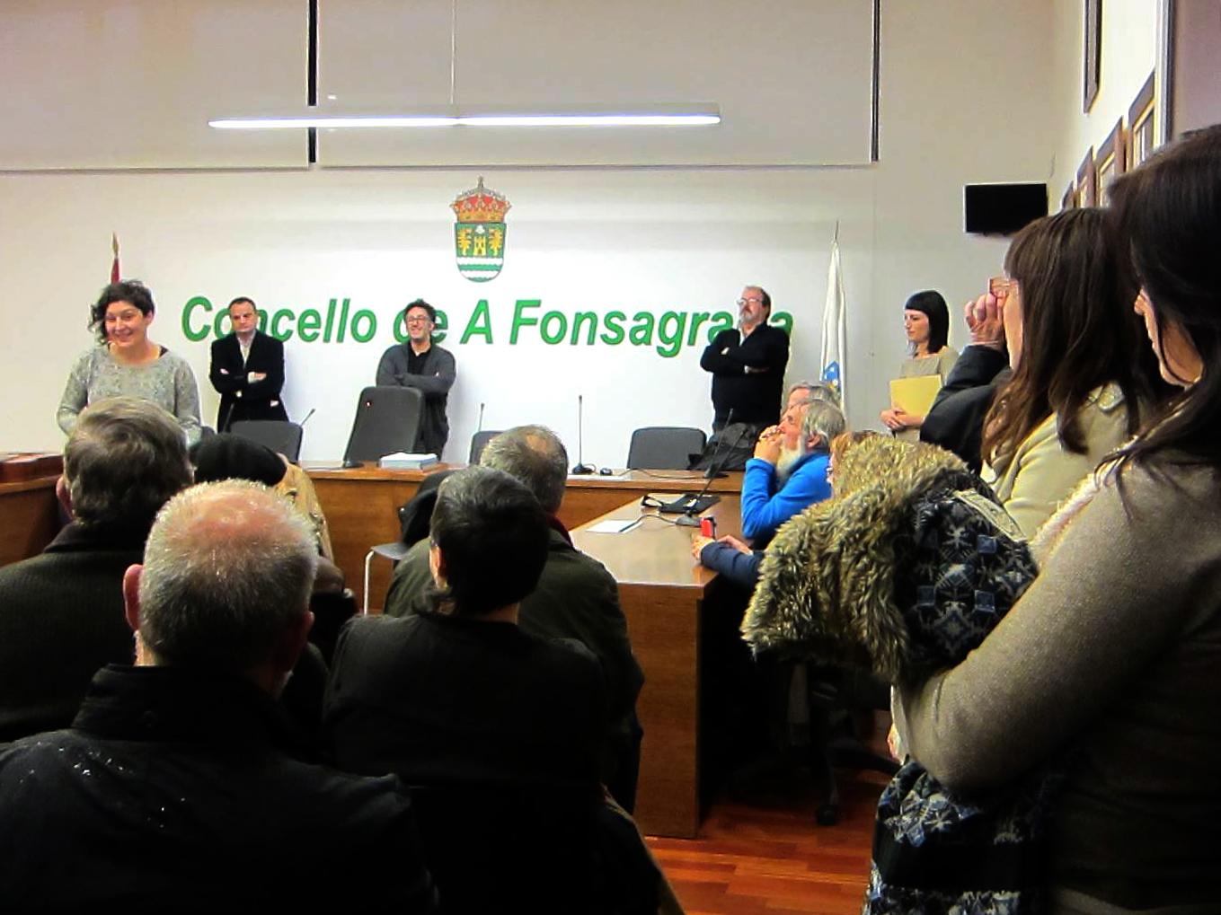 Acto conmemorativo do Batallón Galicia no Concello da Fonsagrada